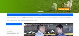 Recently we have completed Poultry Solution Dynamic Website